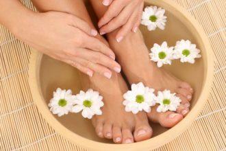 Услуги парафинотерапии ног